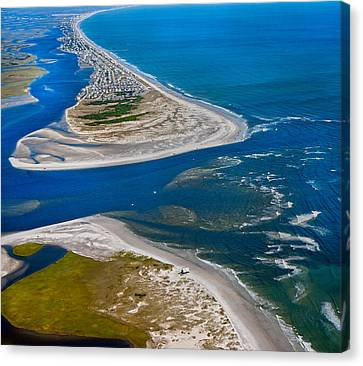 Fishing Shack Canvas Print - Topsail Glorious View by Betsy Knapp