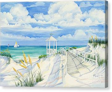 Topsail Hill Canvas Print by Paul Brent