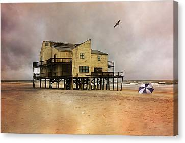 Topsail's Past II Canvas Print by Betsy Knapp