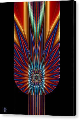 Torch Canvas Print by Jim Pavelle