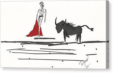 Toreador Canvas Print by Dan Twyman