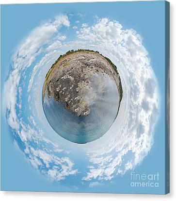 Torekov Panorama Planet Canvas Print by Antony McAulay