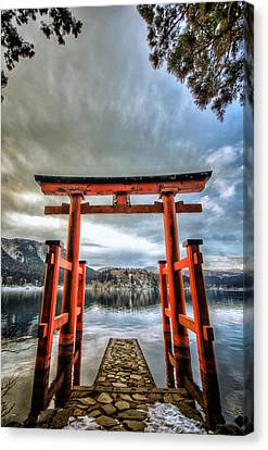 Tori Gate Canvas Print by John Swartz