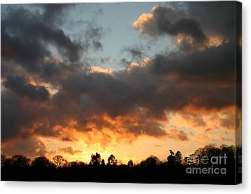 Tormented Sky Canvas Print
