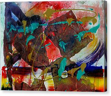 Torn Asunder Canvas Print