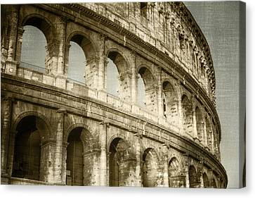 Gladiator Canvas Print - Torn From The Pages by Joan Carroll