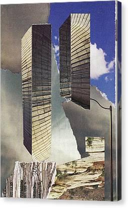 Terrorist Canvas Print - Torn by Matthew Hoffman