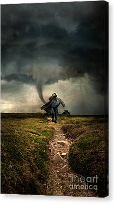 Tornado Canvas Print by Jaroslaw Blaminsky