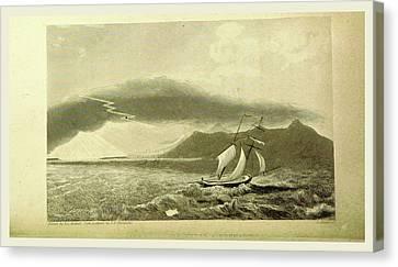 Tornado, Narrative Of A Voyage Of Observation Among Canvas Print