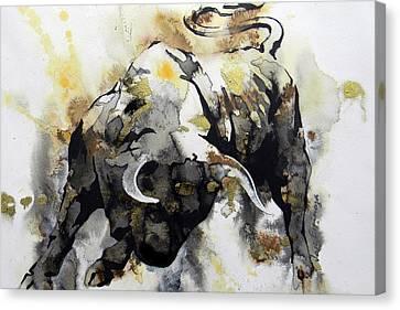 Toro 2 Canvas Print by J- J- Espinoza
