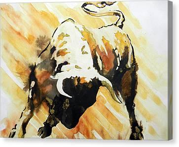 Toro Canvas Print by J- J- Espinoza