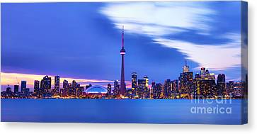 Toronto Bay Panorama Canvas Print