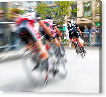 Toronto Criterium Bicycle Race Special Fx - Lucky Number 13 Canvas Print