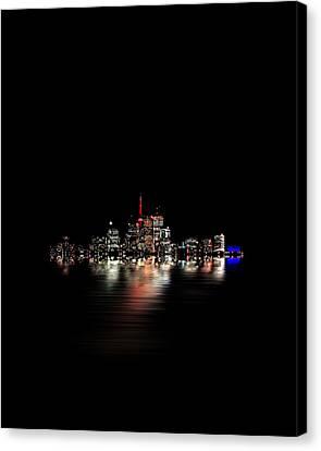 Toronto Flood No 3 My Island Canvas Print by Brian Carson