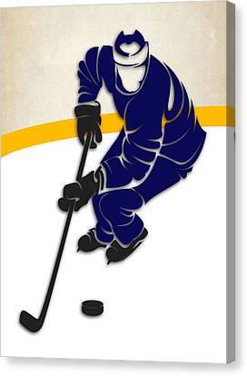 Toronto Maple Leafs Canvas Print - Toronto Maple Leafs Rink by Joe Hamilton