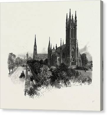 Toronto, Metropolitan Methodist Church Canvas Print by Canadian School