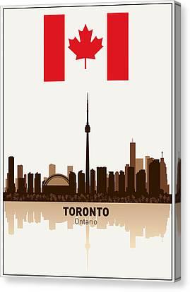 Toronto Ontario Canada Canvas Print by Daniel Hagerman