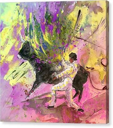 Toroscape 67 Canvas Print by Miki De Goodaboom