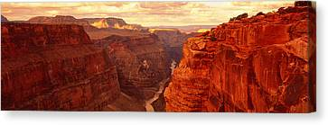 Toroweap Point, Grand Canyon, Arizona Canvas Print