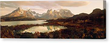 Torres Del Paine National Park Chile Canvas Print by Panoramic Images