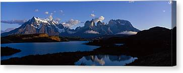 Torres Del Paine, Patagonia, Chile Canvas Print by Panoramic Images