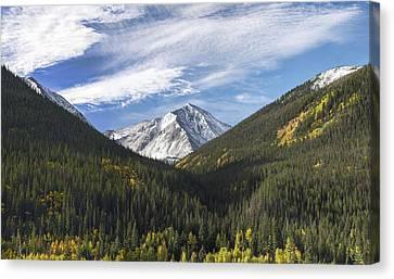 Torreys Peak 3 Canvas Print by Aaron Spong