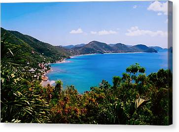 Tortola Bay Canvas Print