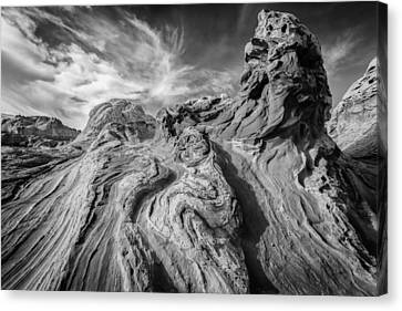Tortured Earth #2 Canvas Print by Joseph Rossbach