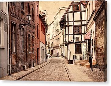 Torun Medieval Town Canvas Print
