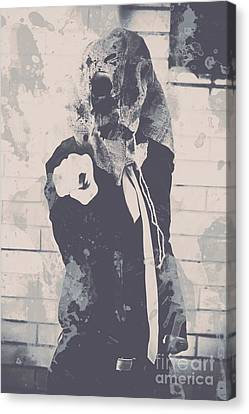 Ghostly Canvas Print - Totalitarian Tom Wants You by Jorgo Photography - Wall Art Gallery