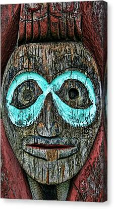 Totem Canvas Print by Heather Applegate