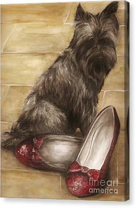Toto Canvas Print by Meagan  Visser