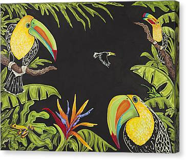 Toucan Fun Canvas Print