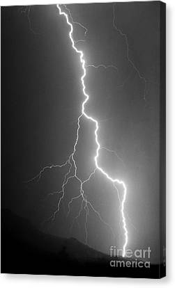Canvas Print featuring the photograph Touch And Go by J L Woody Wooden
