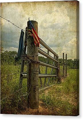 Touch Of Americana Canvas Print