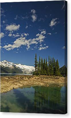 Touch The Sky Canvas Print by Aaron Bedell