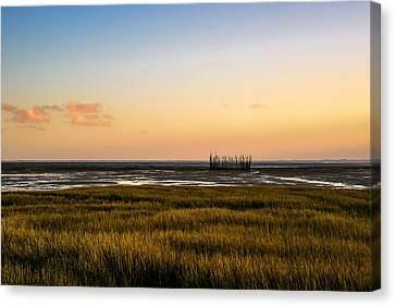 Canvas Print featuring the photograph Touch The Sky by Thierry Bouriat