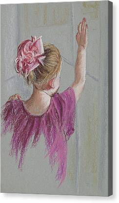 Touch The World Canvas Print by Jocelyn Paine