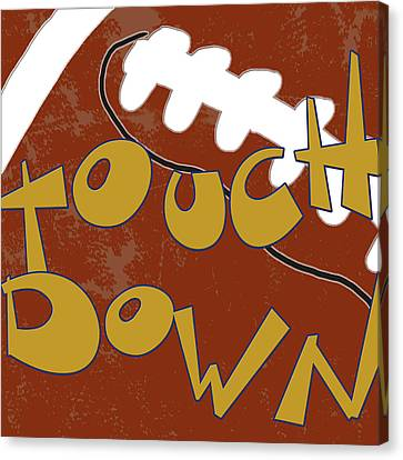 Touchdown Canvas Print by Anna Quach