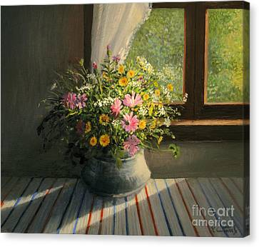 Touched By The Sun Canvas Print by Kiril Stanchev