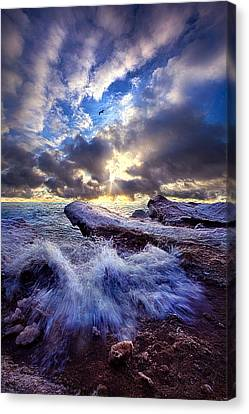 Touched So Divinely Canvas Print by Phil Koch