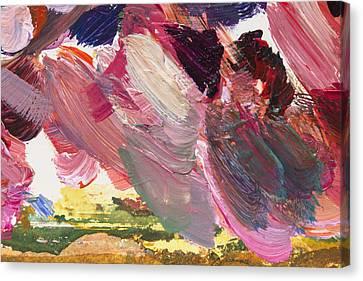 Touching Earth Canvas Print by David Lloyd Glover