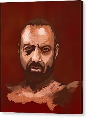 Tough Guy Canvas Print by Tim Stringer
