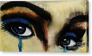 Tougher Than You Think 4 Canvas Print by Michael Cross