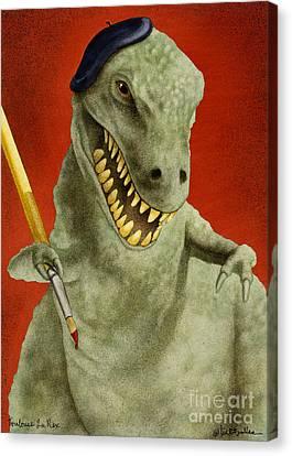 Toulouse La Rex... Canvas Print by Will Bullas