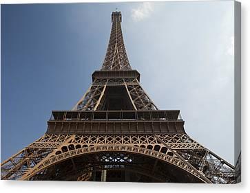 Tour Eiffel 2 Canvas Print by Art Ferrier