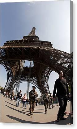 Tour Eiffel 3 Canvas Print by Art Ferrier