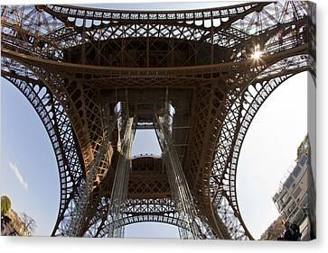 Tour Eiffel 4 Canvas Print by Art Ferrier
