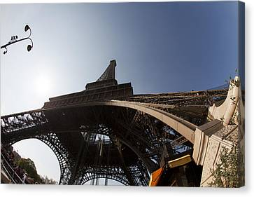 Tour Eiffel 5 Canvas Print by Art Ferrier