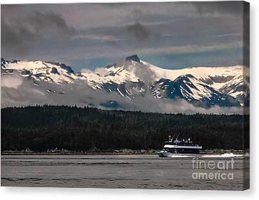 Touring Alaska Canvas Print by Robert Bales
